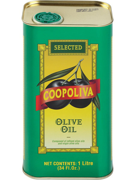 Оливковое масло Coopoliva 100% Pure 1л ж/б